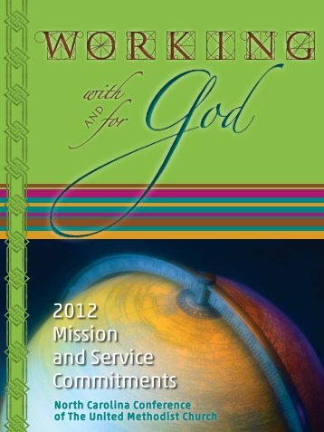 2012 Mission and Service Commitments - Ink Scribe Design