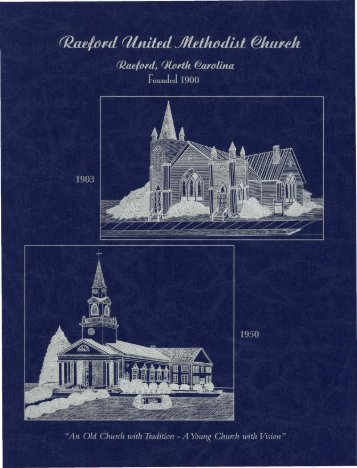 Centennial History of the Raeford United Methodist Church, 1900 ...