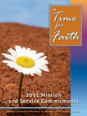 2011 - North Carolina Conference-United Methodist Church