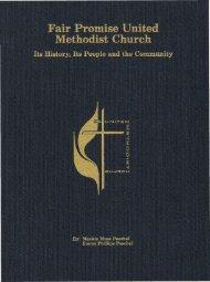 Fair Promise United Methodist Church, 1989 - North Carolina ...
