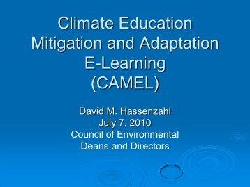 NCSE-CEDD CAMEL