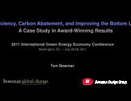PowerPoint - 2011 International Green Energy Economy Conference