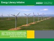 Energy Literacy Initiative