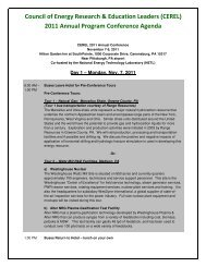 2011 Annual Program Conference Agenda - National Council for ...