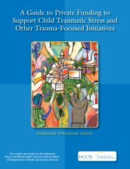 A Guide to Private Funding to Support Child Traumatic Stress and ...