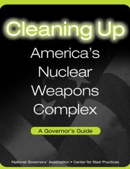 America's Nuclear Weapons Complex - Nevada Division of ...