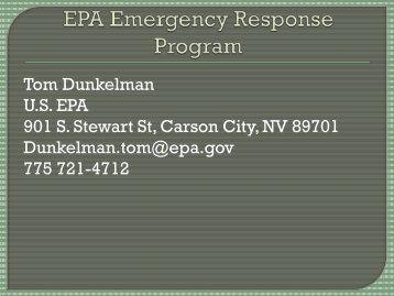 October, 2012 US EPA Presentation