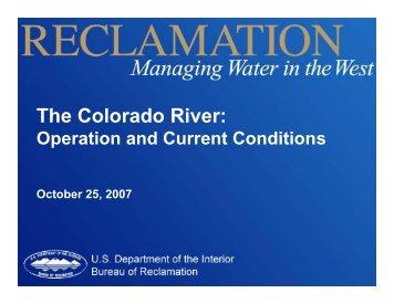 The Colorado River: