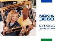 PDF Nokia 3660 Guide d'utilisation