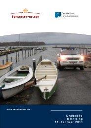 Søulykkesrapporten kan læses her…. - Den Maritime ...