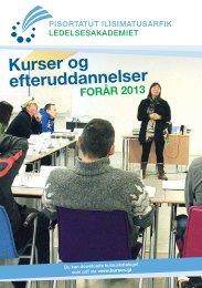 download kursuskatalog forår 2013 - Grønlands Handelsskole