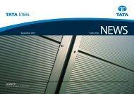 Nyhedsbrev September 2012 - Velkommen til Tata Steel