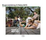 Brugervejledning til Nokia 6070