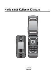 20 Batarya Bilgileri Nokia