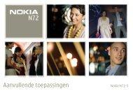 Aanvullende toepassingen - Nokia