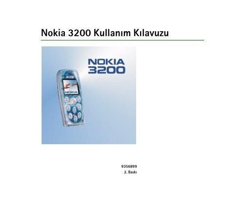 Pdf Nokia 3200 Kullanim Kilavuzu