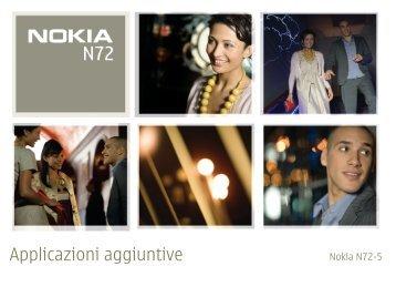 Applicazioni aggiuntive - Nokia