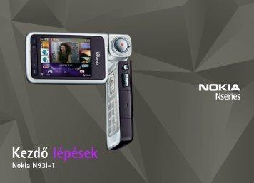 Kezdõ lépések - Nokia