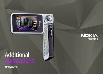 Additional Applications - Nokia
