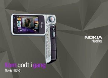 Komgodt i gang - Nokia