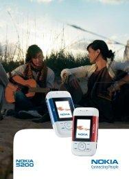PDF Nokia 5200 Guide d'utilisation