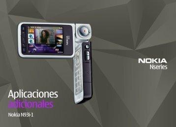 Aplicaciones adicionales - Nokia
