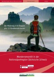 Wanderromantik in der Nationalparkregion Sächsische Schweiz