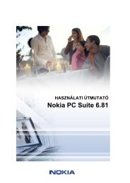 User's Guide for Nokia PC Suite 6.81