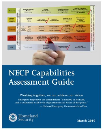 NECP Capabilities Assessment Guide - SafeCom