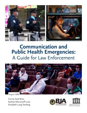 Communication and Public Health Emergencies: A Guide for Law ...