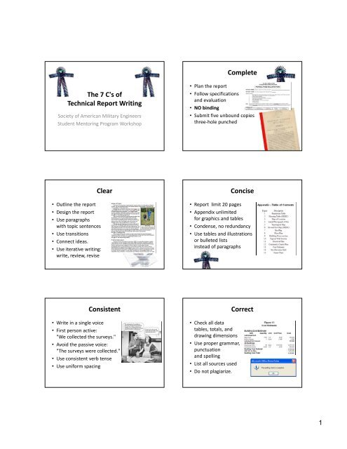technical report topic ideas