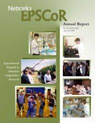 Annual Report 2001 - Nebraska EPSCoR - University of Nebraska