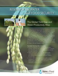 The Global Yield Gap and Water Productivity Atlas - The Water for ...