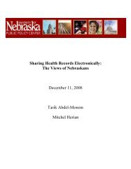 Sharing Health Records Electronically - University of Nebraska ...