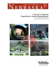 University of Nebraska Comprehensive Annual Financial Report