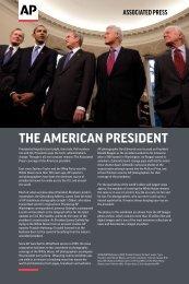 The AmericAn presidenT - Associated Press
