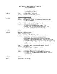 FRIDAY, MARCH 15, 2013 - University of Nebraska