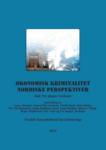 Økonomisk Kriminalitet Nordiske Perspektiver - Scandinavian ...