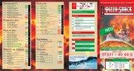 Preisliste Download - NECO's PIZZA-SNACK