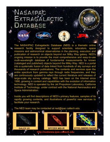 NEW! - NED - Caltech