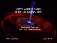 Active Galactic Nuclei at the Half-Century Mark - NED
