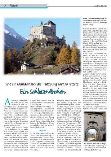2010-22_Schloss Tarasp.pdf - Dr. Neinhaus Verlag AG