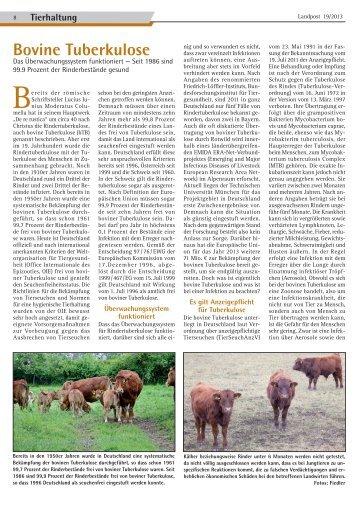 Bovine Tuberkulose.pdf - Dr. Neinhaus Verlag AG