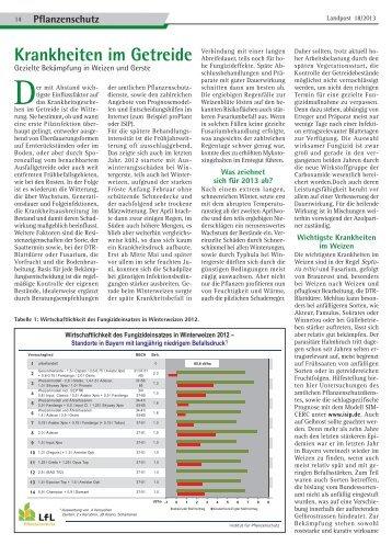 2013-18_Krankheiten im Getreide.pdf - Dr. Neinhaus Verlag AG