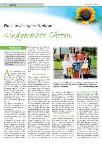 2011-33_Kindgerechte Gaerten.pdf - Dr. Neinhaus Verlag AG