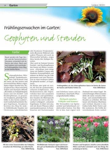 Garten - Dr. Neinhaus Verlag AG