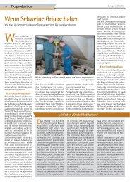 Wenn Schweine Grippe haben - Dr. Neinhaus Verlag AG