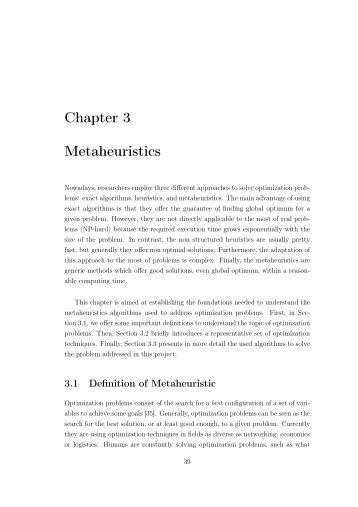 "Download ""Metaheuristics"" - NEO"