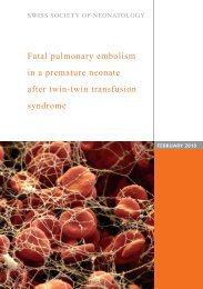 Fatal pulmonary embolism in a premature neonate after twin-twin ...