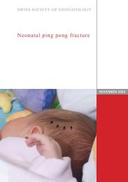 Neonatal ping pong fracture - Swiss Society of Neonatology